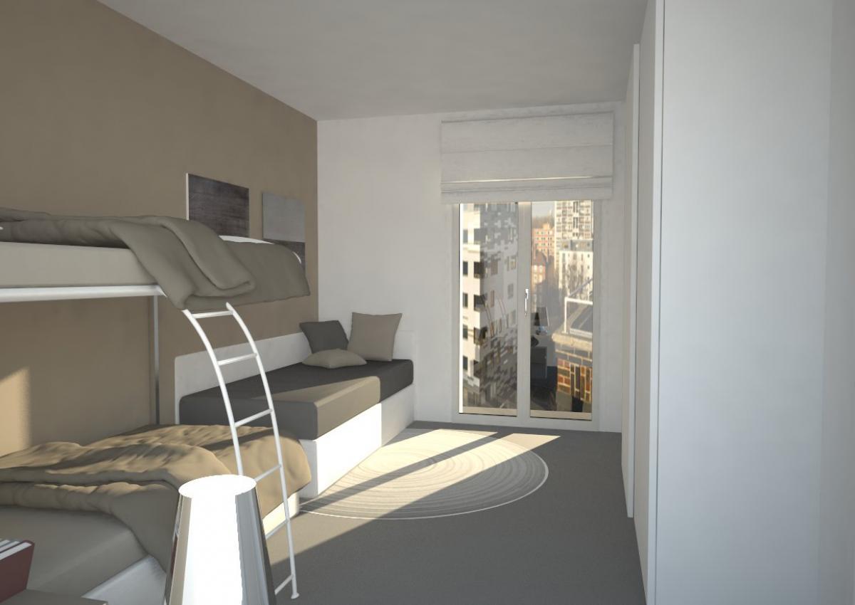 Jesolo appartamento 2 camere ampio giardino garage for Costruttori di appartamenti garage